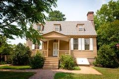 Maison coloniale américaine Photos stock