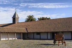 Maison coloniale de style au Chili Photo stock