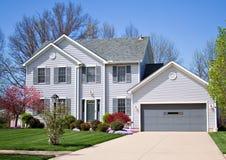 Maison colorée photos stock