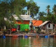Maison colorée Image libre de droits