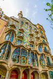 Maison colorée Batllo à Barcelone Photo libre de droits