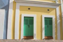 Maison colorée en San Juan Puerto Rico image stock
