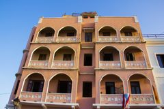 Maison colorée en San Juan Puerto Rico photos stock