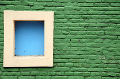 Maison colorée de caminito Image stock