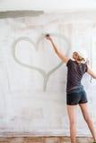 Maison complètement de l'amour - concept Image libre de droits