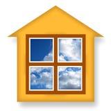 Maison confortable illustration libre de droits