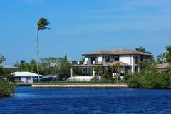 maison côtière de la Floride Image libre de droits