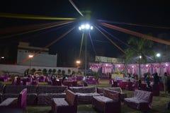 Maison décorée de mariage se marier images libres de droits