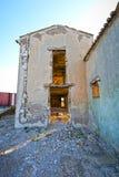 Maison délabrée Photo stock