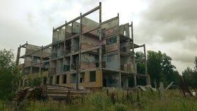 maison détruite Photo libre de droits