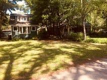 Maison d'été - cottage Photographie stock