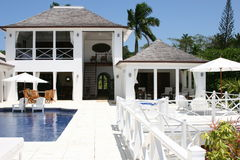 maison d'été luxueuse Image libre de droits