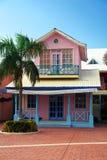 Maison d'été rose Images libres de droits