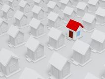 maison 3d Image stock