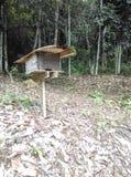 Maison d'abeille Photos stock