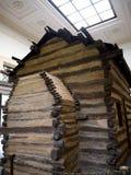 Maison d'Abraham Lincolns Log Cabin dans Bardstown Kentucky Etats-Unis photographie stock