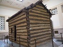 Maison d'Abraham Lincolns Log Cabin dans Bardstown Kentucky Etats-Unis image stock