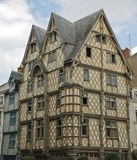 Maison d'Adam,. Adam's House, the oldest house of Angers Royalty Free Stock Photography
