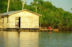 Maison d'Amazone photos stock