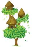 Maison d'arbre Images stock
