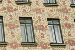 Maison d'art déco à Vienne, Autriche Image libre de droits