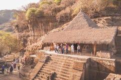 Maison d'Eagle's dans Malinalco Photo libre de droits