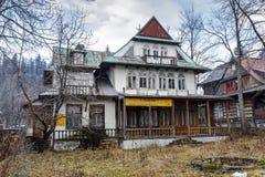 Maison d'hôtes en bois la Floride dans Zakopane Photos libres de droits