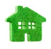 Maison d'herbe Photo stock