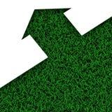 Maison d'herbe d'Eco photographie stock libre de droits