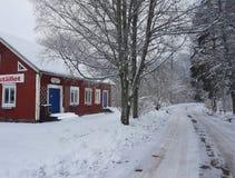 Maison d'hiver Images stock
