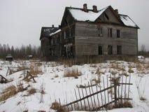 Maison d'horreur Photographie stock