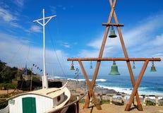 Maison d'Isla Negra Pablo Nerudas photographie stock libre de droits
