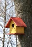 Maison d'oiseau Image libre de droits
