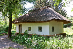 Maison d'Ukrainien de tradition Image stock