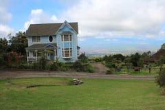 Maison dans Haleakala Photographie stock libre de droits