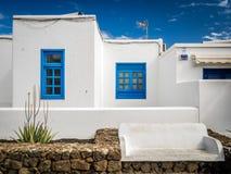 Maison dans le Blanca de Playa Photos stock