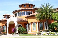 Maison dans les tropiques Image libre de droits
