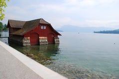 Maison de bateau Image stock