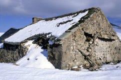 Maison de berger photo libre de droits