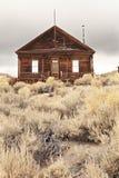 Maison de Bodie Ghost Abandonné à la maison Photo stock