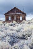 Maison de Bodie Ghost Abandonné à la maison Photos libres de droits