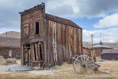 Maison de Bodie Ghost Abandonné à la maison Photo libre de droits