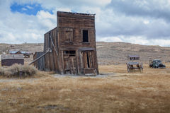 Maison de Bodie Ghost Abandonné à la maison Image stock