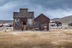 Maison de Bodie Ghost Abandonné à la maison Image libre de droits