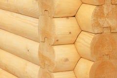 Maison de bois de construction Photo libre de droits
