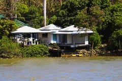 Maison de bord de mer Photo stock