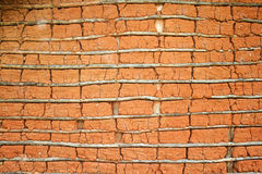 Maison de boue (texture) Photographie stock libre de droits