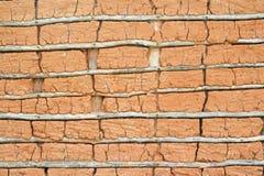 Maison de boue (texture) Photo stock