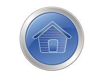 Maison de bouton Image stock