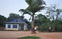 Maison de campagne dans Dalat, Vietnam Image stock